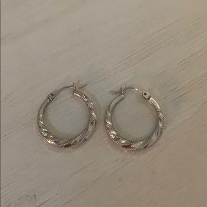Jewelry - Sterling Silver Hoops